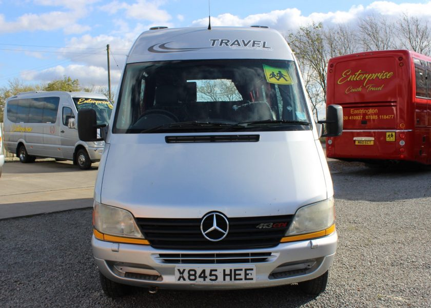 2000 MERCEDES-BENZ SPRINTER 16 SEATS