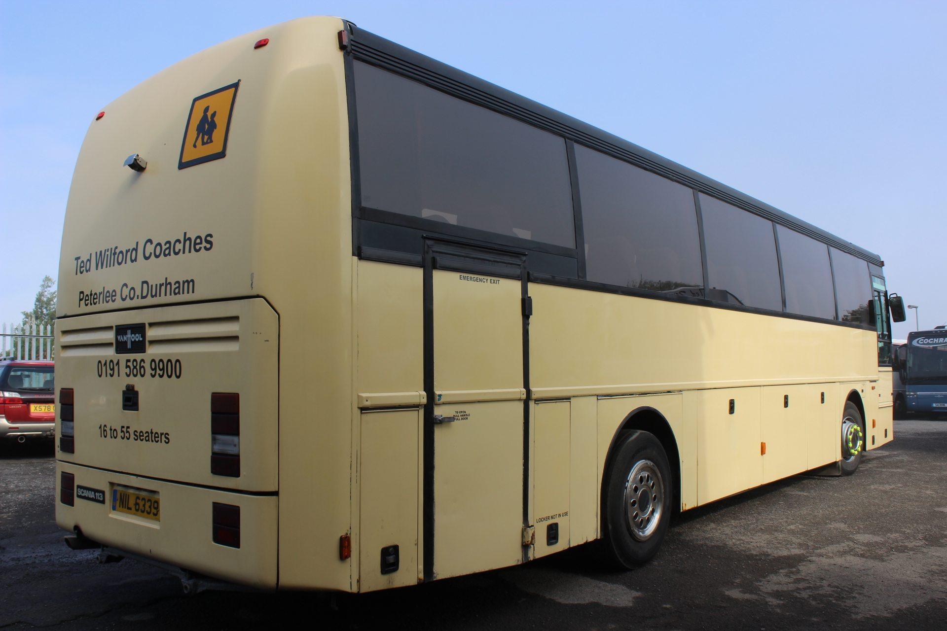 94 Scania K113 Van Hool Alizee 49 Seats Hills Coaches