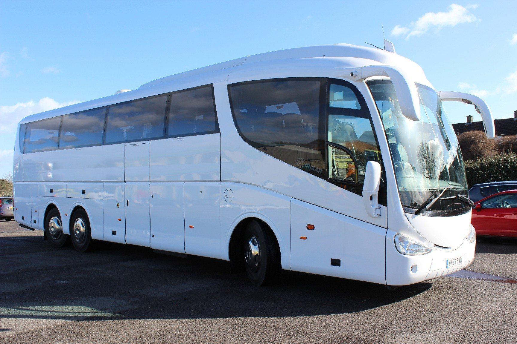 08 Scania K340 Irizar Pb 55 Seats Hills Coaches