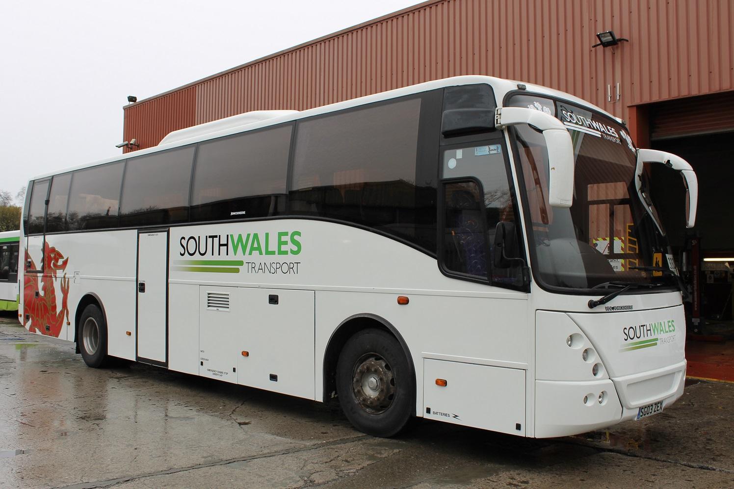 2003 Volvo B12m Jonckheere Mistral 51 Seats Hills Coaches