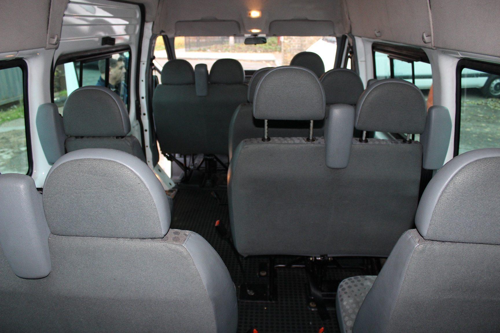 2007 ford transit 16 seats hills coaches. Black Bedroom Furniture Sets. Home Design Ideas
