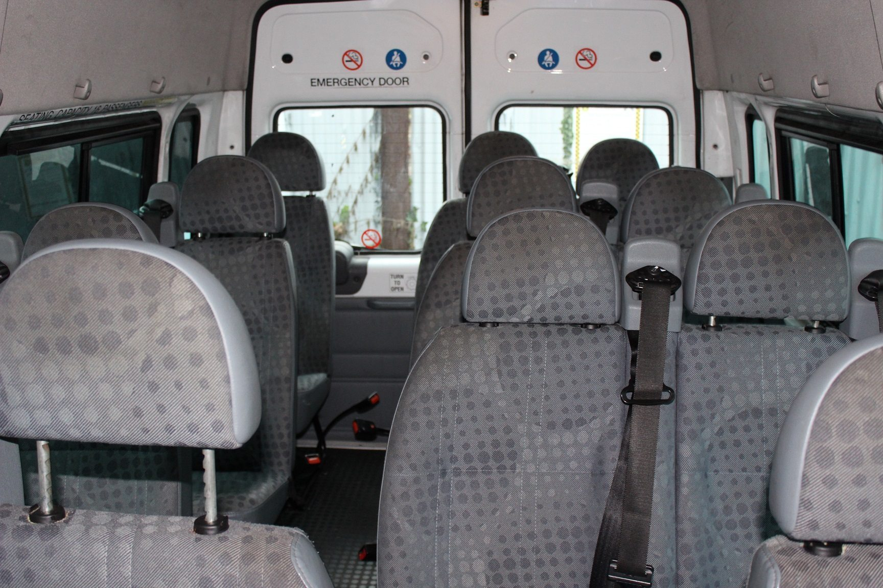 2007 Ford Transit 16 Seats Hills Coaches
