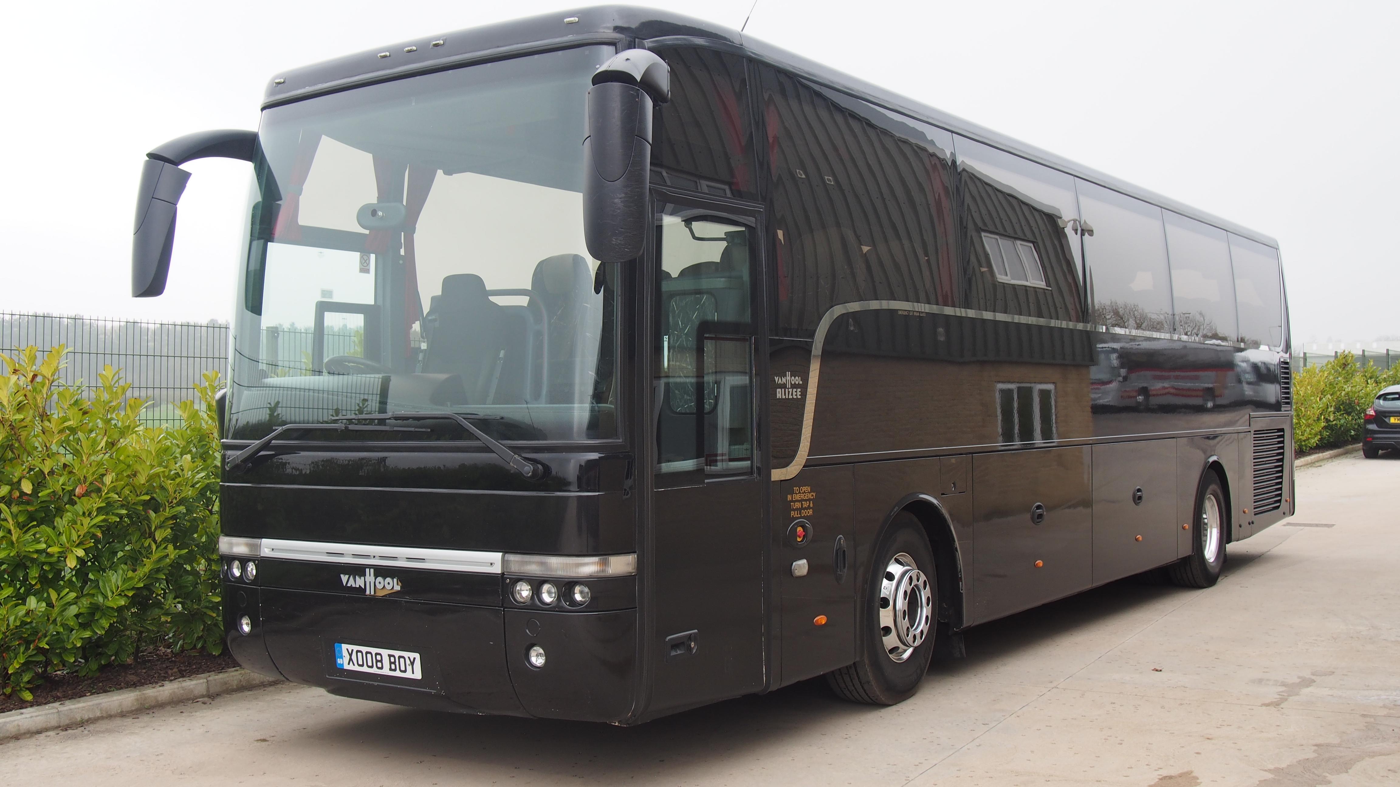 08 Volvo B12b Van Hool T9 53 Seats Hills Coaches