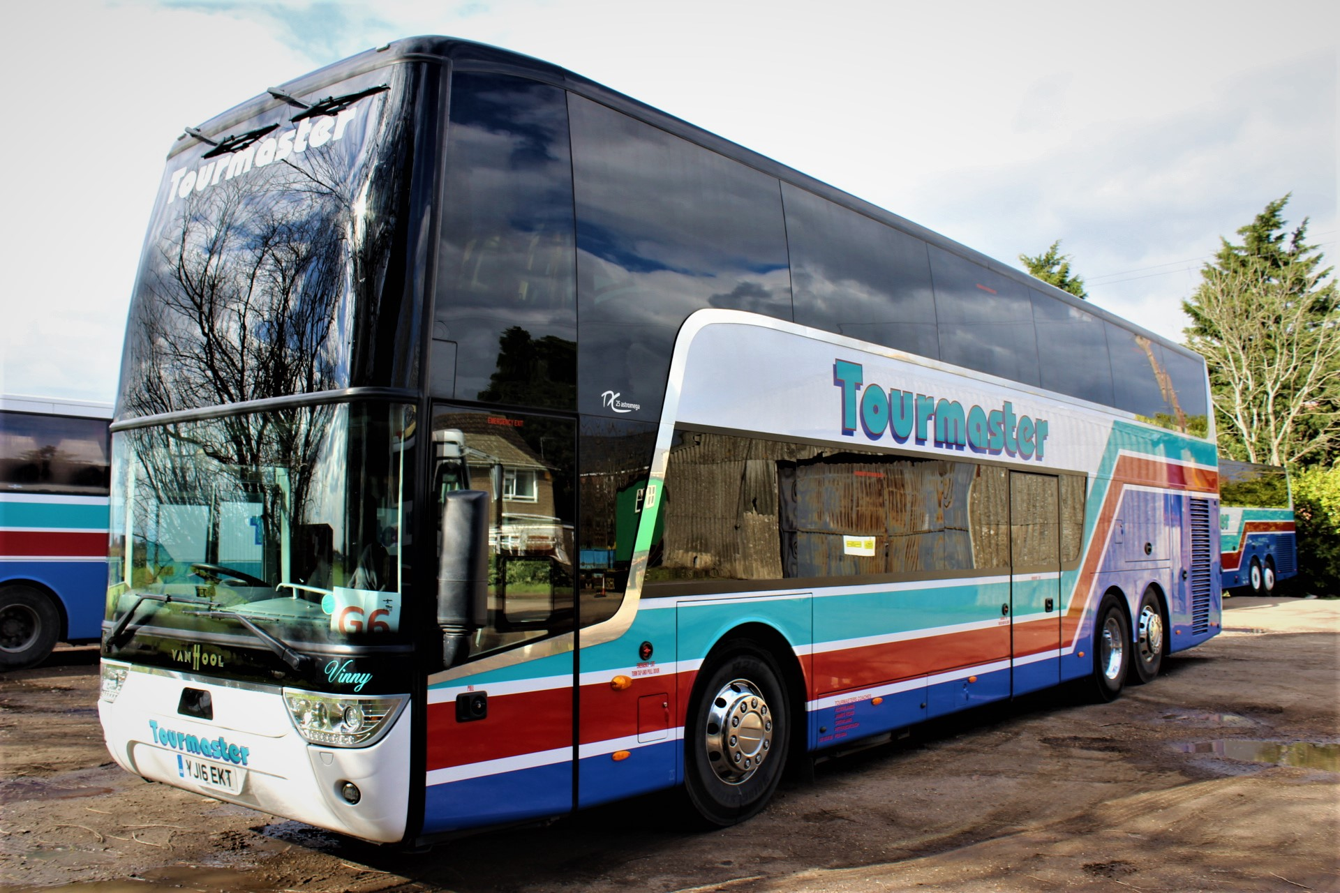2016 VAN HOOL ASTROMEGA TX25 77 SEAT EURO 6 - Hills Coaches