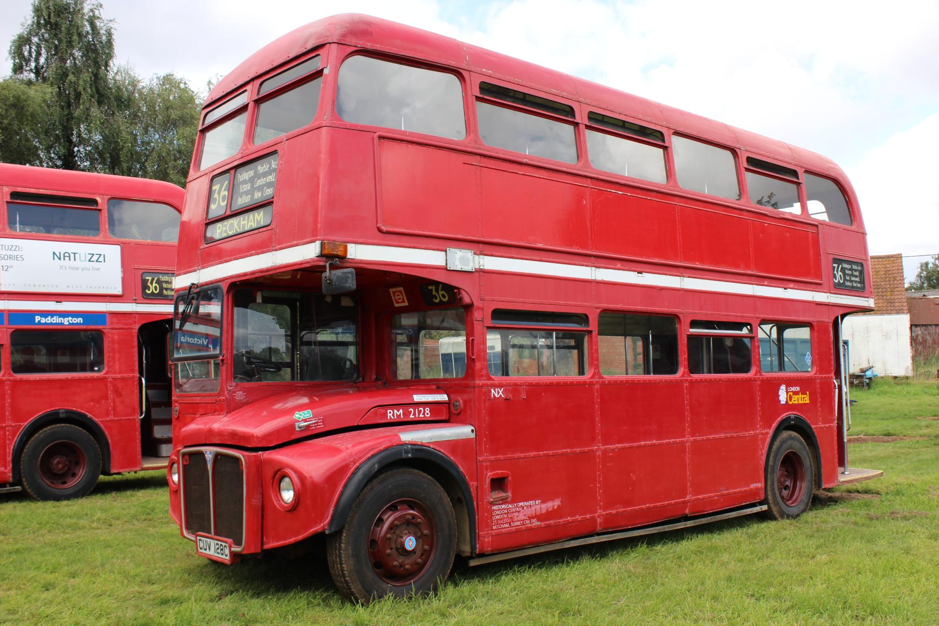 1965 AEC PARK ROYAL ROUTEMASTER 64 SEAT DOUBLE DECK BUS